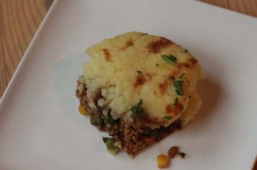 """Shepherdess"" pie"