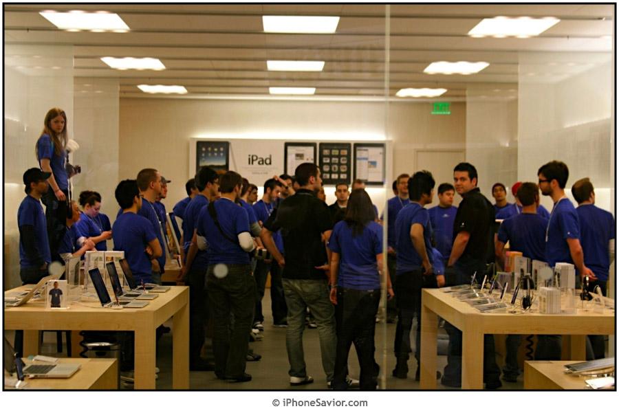 iPad Staff Briefing