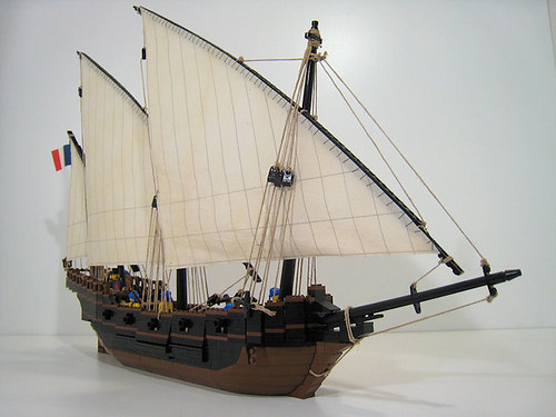 LEGO Bonaparte Xebec