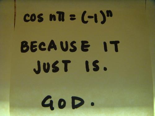 RPI - cos nπ = (-1)^n