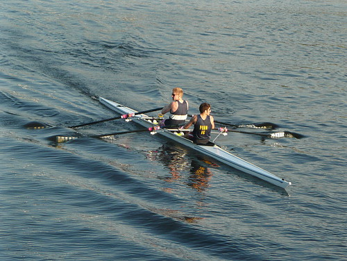 Rowers and ripples