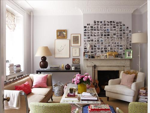James Merrell Rita Konig living room