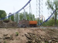 Cedar Point - Shoot the Rapids Island Side