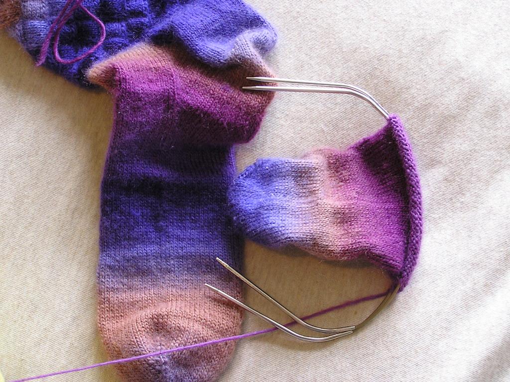 Mochi Entrelac Socks 11