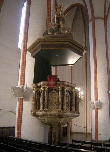 St Jacobi Hamburg - Kanzel