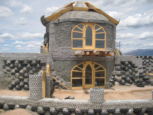 New Construction at Earthship