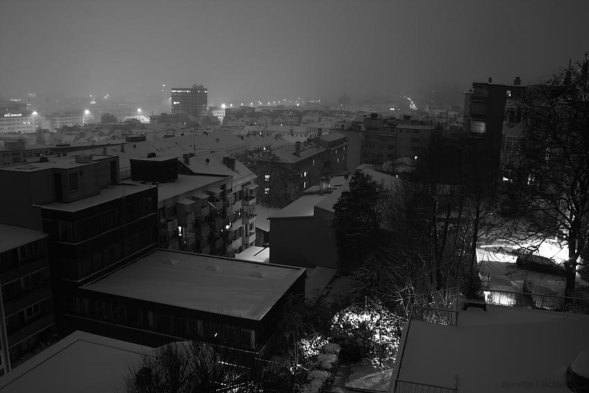 Stuttgart im Schnee