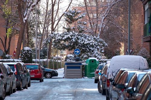 Una calle de Nueva Alcalá
