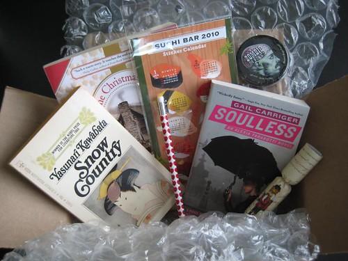 December giveaway from velvet