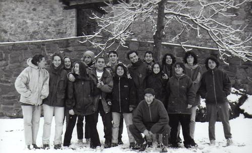 Àlbum Curs 1998-99, colònies i campaments a Tuixèn'99 i camp de treball de Joves a Virós'99