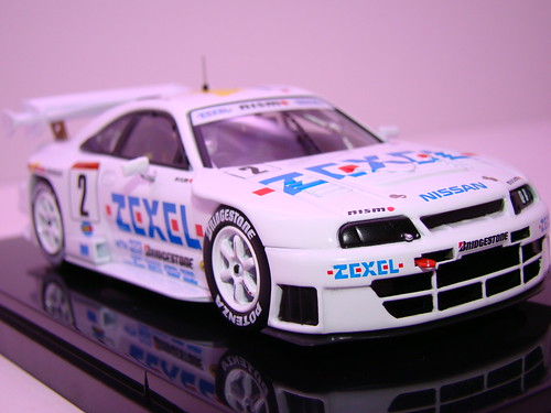 EBBRO ZEXEL SKYLINE R33 JGTC 1998 (4)