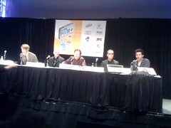 And the #devopanel begins at #sxsw