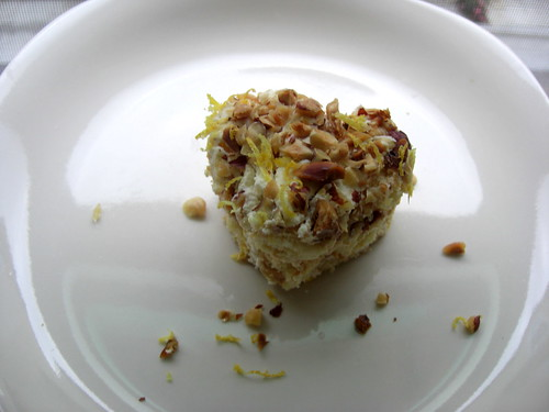 Hazelnut tiramisu