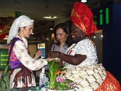 Treffen der Kulturen von petra hh