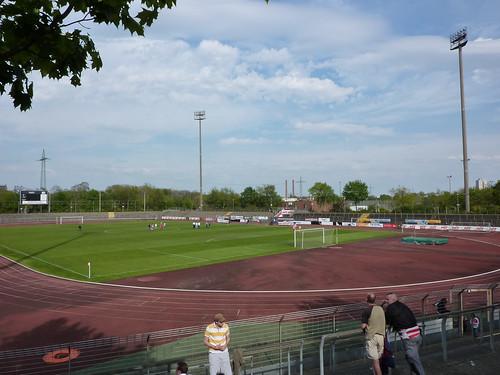Südstadion nach dem Spiel