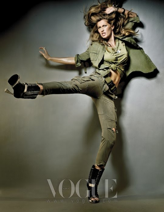 VOGUE  GISELE BUNDCHEN by NINO MUNOZ  7