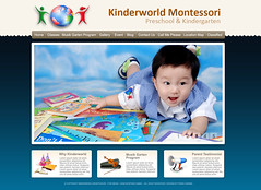 Web Design Kinderworld