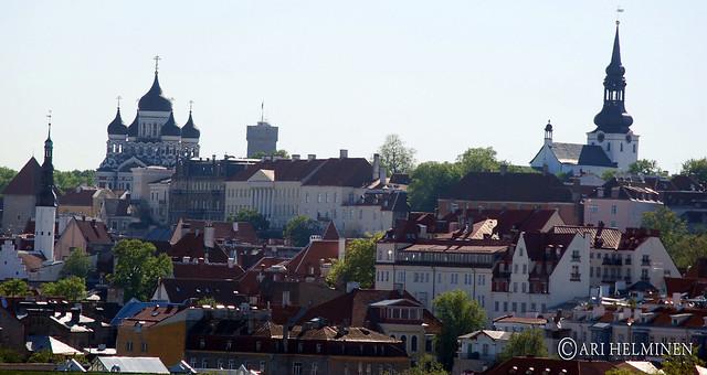 Old part of Tallinn, Estonia