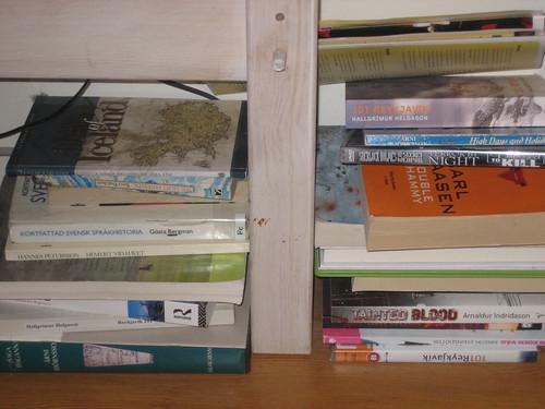 Book storage on Uppsala floor