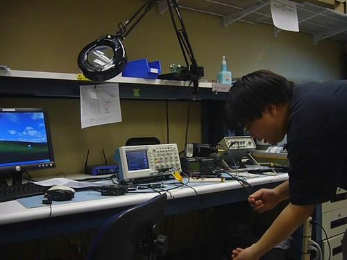 Test firing bullet flight detector switch