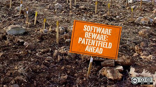 Software beware: patents ahead