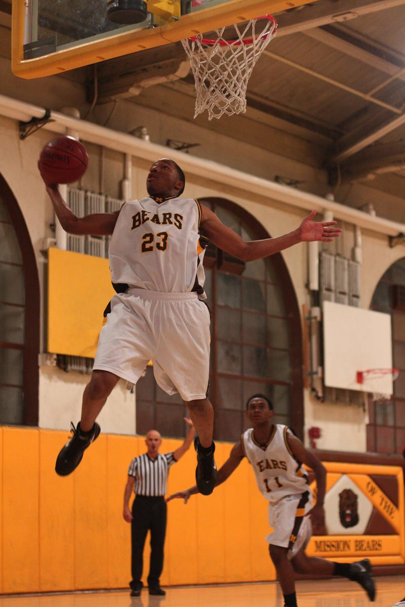 Vars Basketball Against Mission-9