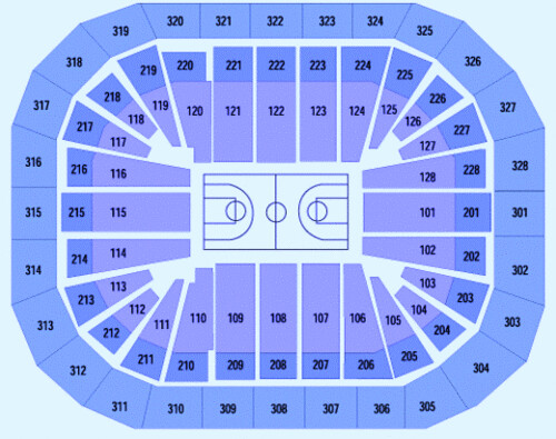 Ticket King Kohl Center seating chart