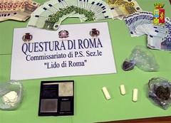 Roma: polizia arresta albanesi per spaccio stupefacenti