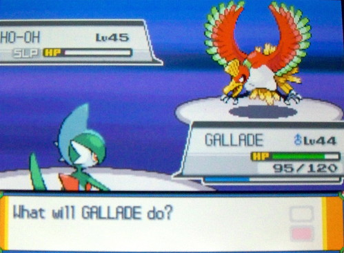 Gallade's Battle