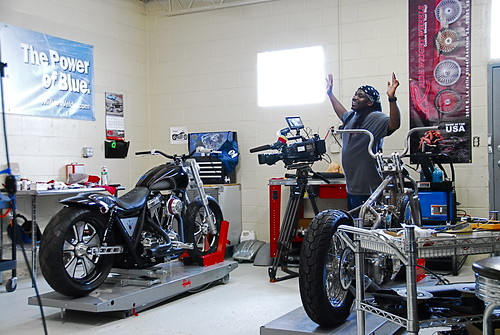 Brawler: Two Wheel Thunder filming