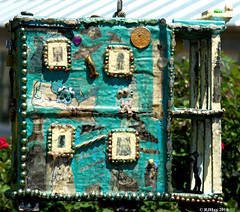 New Orleans-style Birdhouse - New Orleans Botanical Garden