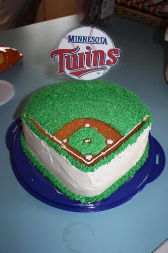 The Twins Cake
