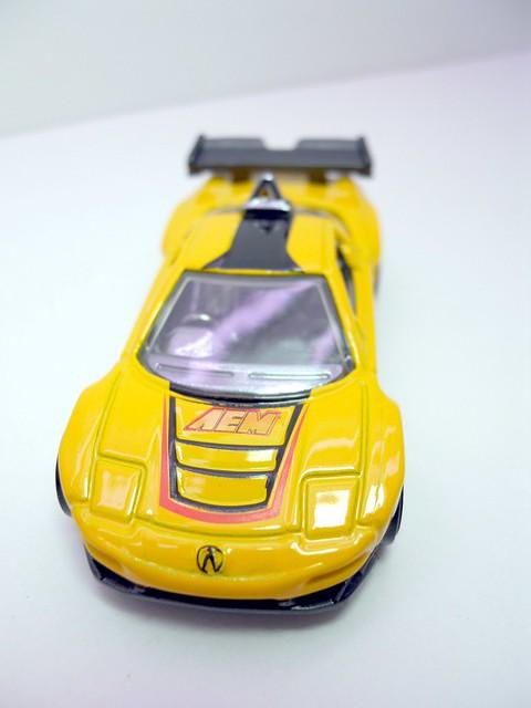 hot wheels Acura nsx yELLOW (3)