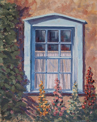 Blue Window - 12x16