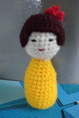 Crochet - kokeshi