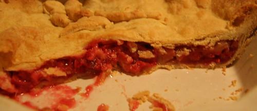 Rhubarb Pie a la Mrs. Beeton