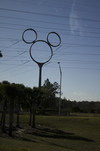 Mickey Mouse power lines