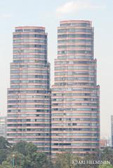 Polanco district towers , Mexico