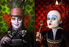 Alice in Wonderland, in theaters this weekend