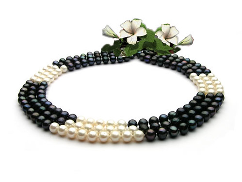 lucky gemstone freshwaternacklace anniversaryjewelry
