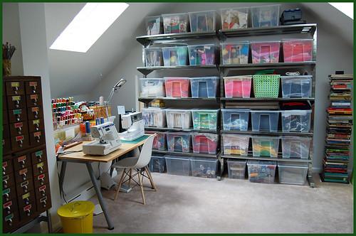 studio attic space