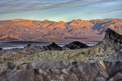 Lever du soleil sur Death Valley
