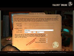 Fallout MMO BETA Sign Up