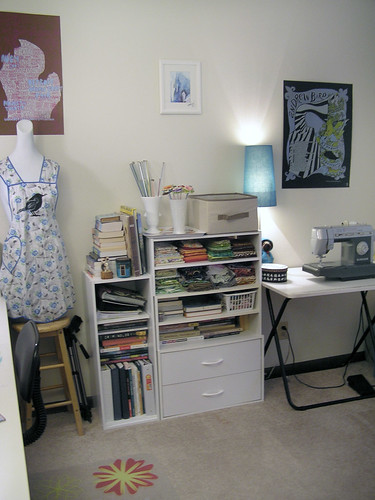 Studio - sewing area