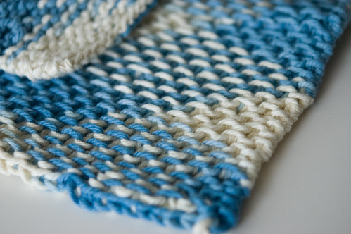 Chinese wave dishcloths (by bookgrl)