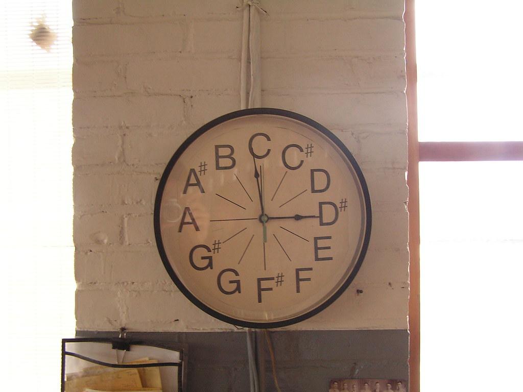 Clock, Austin Organs