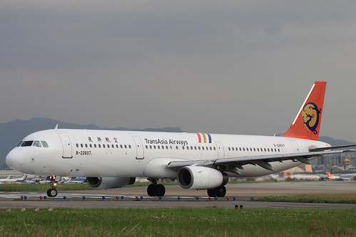 Transasia Airways A320-100(B-22607)