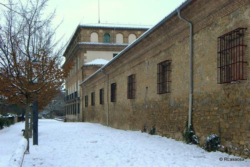 Vista parcial de la Ronda del Obispo Barbazán, Pamplona
