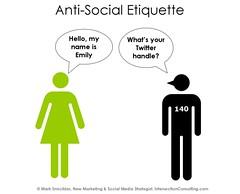 Anti-Social Etiquette