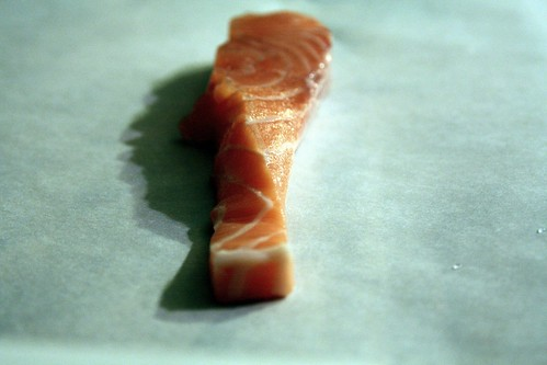 Organic Scottish salmon